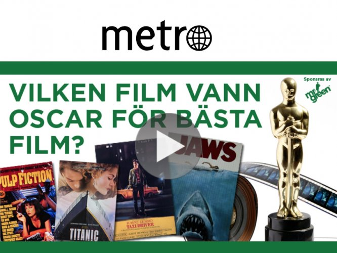 Case: Metro – nativekampanj för Mr Green