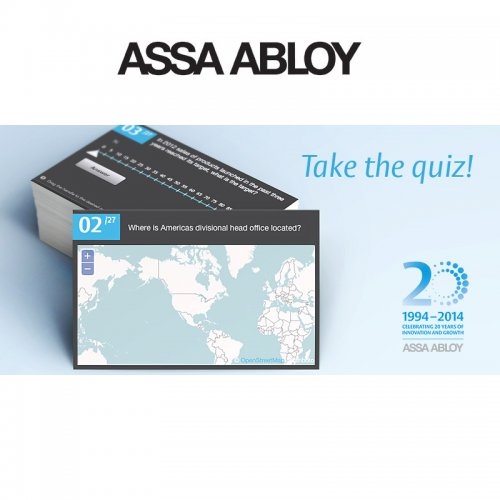 Case: ASSA ABLOY – 20th Anniversary